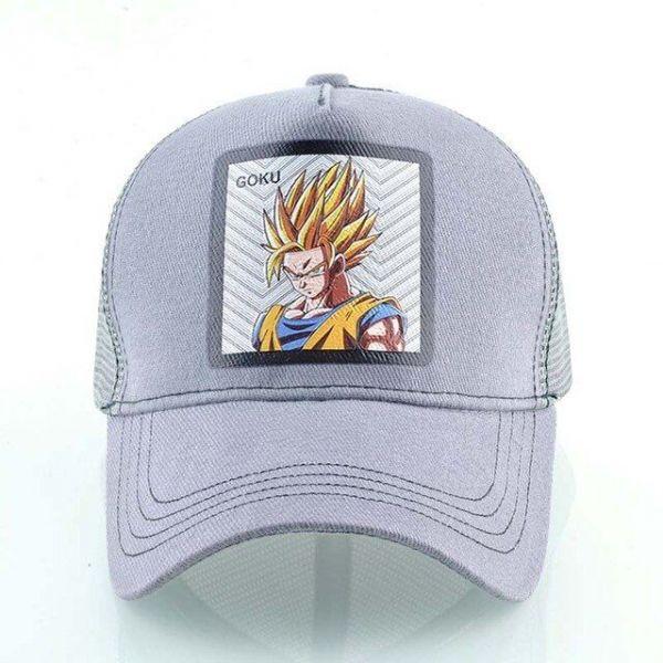 Gorra Goku Super Sayan Sello Impreso
