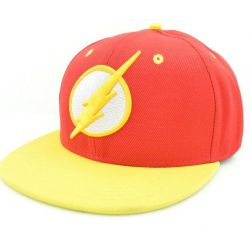 Gorra de Béisbol The Flash Superheroe con Visera Plana y logo...
