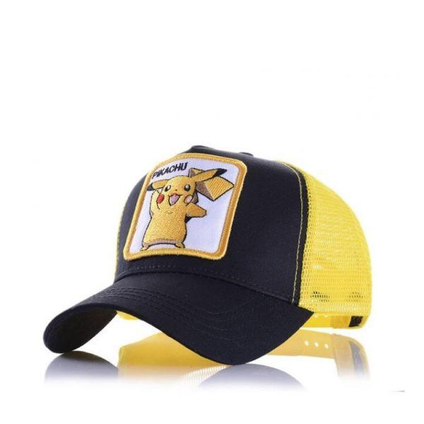 Gorra Pikachu Parche Bordado Pokemon