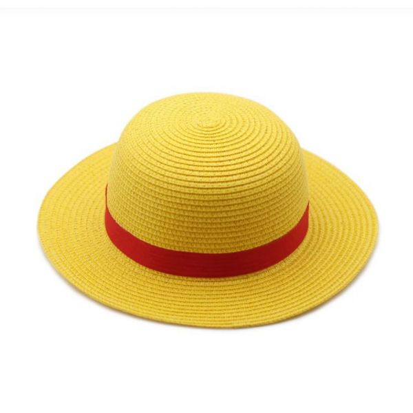 Sombrero de Paja Monkey D Luffy Cosplay