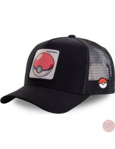 Gorra Pokeball Parche...