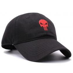 Gorra the Punisher Alta calidad de Bordado Skull Gorras Curvadas