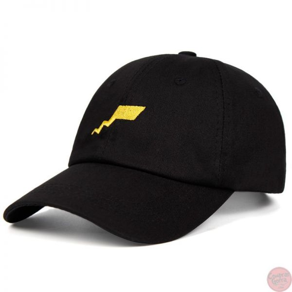 Gorra Cola Picachu Bordada Frontal...