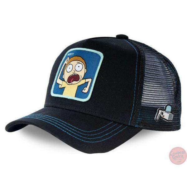 Gorra Morty Aterrorizado Serie Rick y...