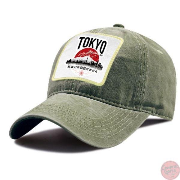 Gorra Tokyo Parche Capital Japonesa...