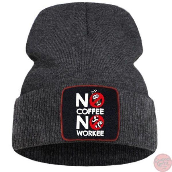 Gorro No Coffee No Workee Calentito...