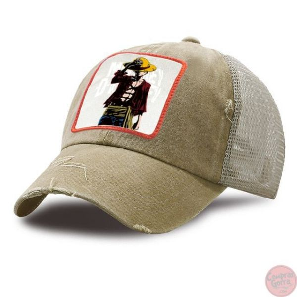 Gorra Monkey D Luffy Transpirable One...
