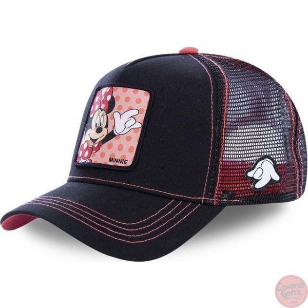 Gorra de Minnie Saldudando Fondo...