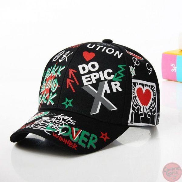 Gorra Graffiti DO EPIC XIR LOVER...