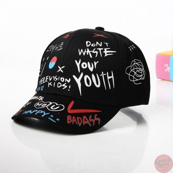 Gorra GRAFITI Dont Waste Your Youth...