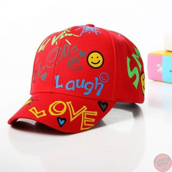 Gorra LOVE Graffiti Lauch Sun Smile...