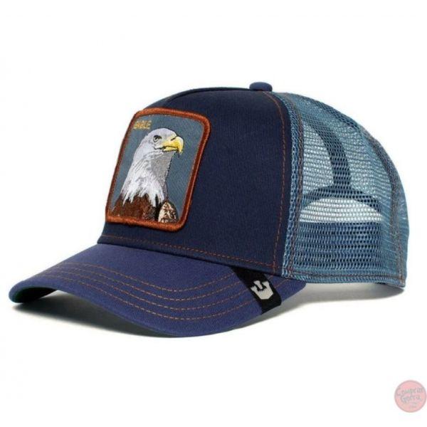 Águila Gorra EAGLE Tono Azulado -...