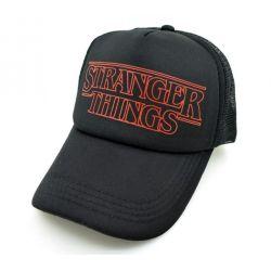 Gorra con Logotipo Stranger Things Serie Netflix Visera...