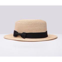 Sombrero para Mujer Señora de Paja buena Calidad Con Lazo...