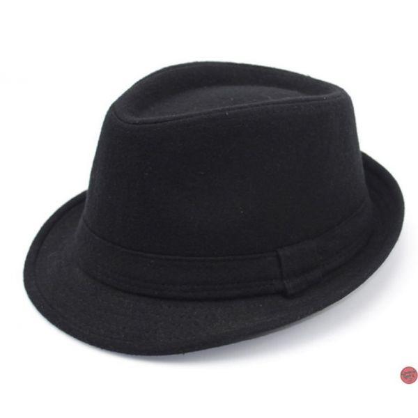 7c79f2b6b4cca 🧢 Sombrero fieltro de Lana al estilo Trilby para hombre Moda 2019