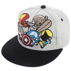 Gorra superheroes Marvel Lobezno Iron Man Thor y Capitan...