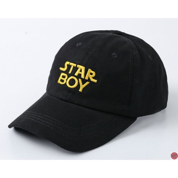 Starboy y Stargirl gorra con visera...