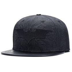 Gorra estilo Hip Hop Plana con Insignia de Batman Colección...