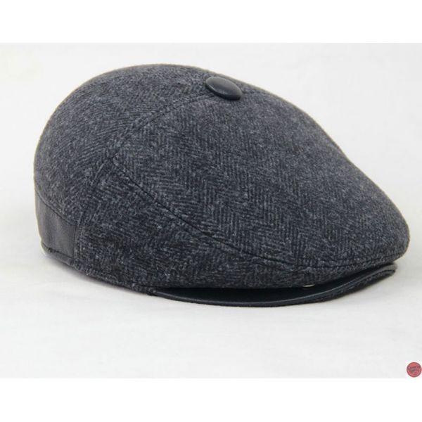 f6175bf8f3ee7 🧢 Boina de Lana para Hombre Moda Masculina Gran calidad - Tienda Online