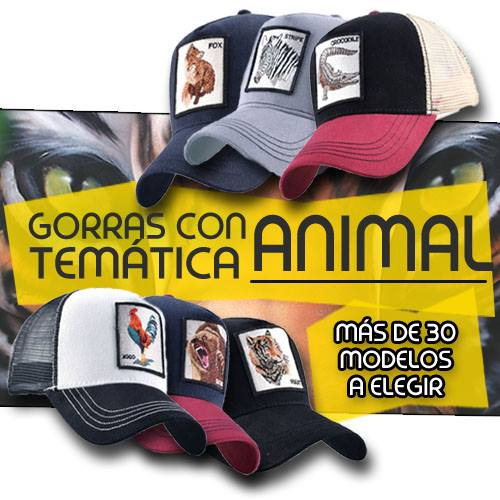 comprar gorra animal online