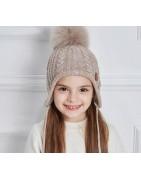 Gorros para niños 2-8 años Colección Gorros calentitos del invierno