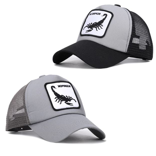 gorras animal scorpion
