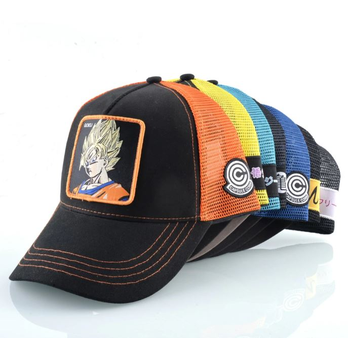 gorras de dragon ball