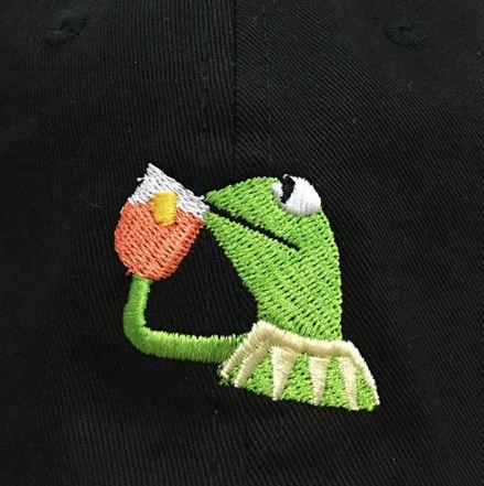 comprar gorra bordado alta calidad rana gustavo