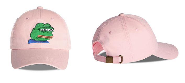 comprar gorra meme rana rosa