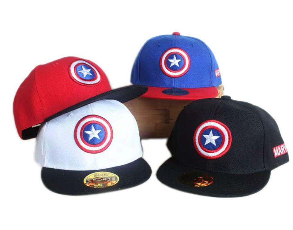 gorra capitan america