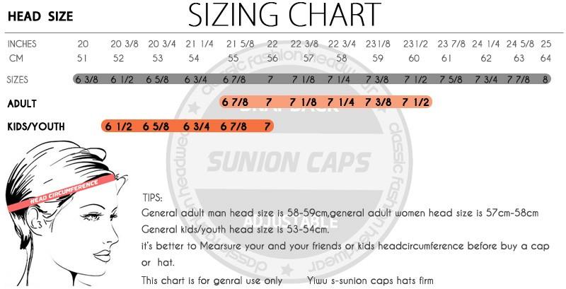 comprar gorra medidas
