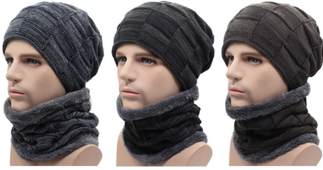 gorro con bufanda online