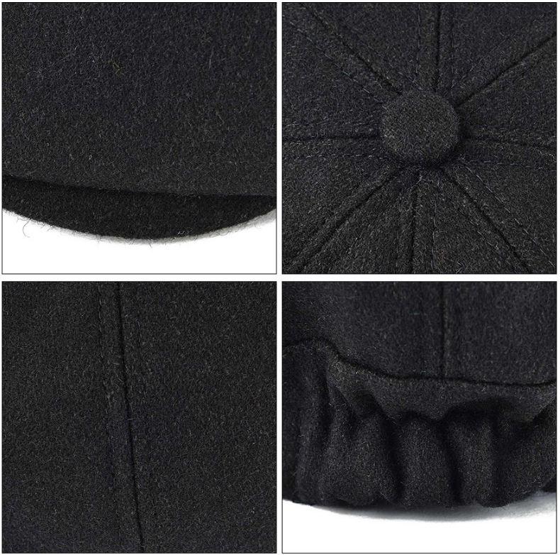 gorra elegante para mujer
