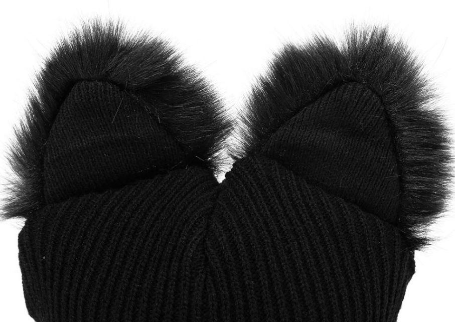 gorros mujer con orejas de gato