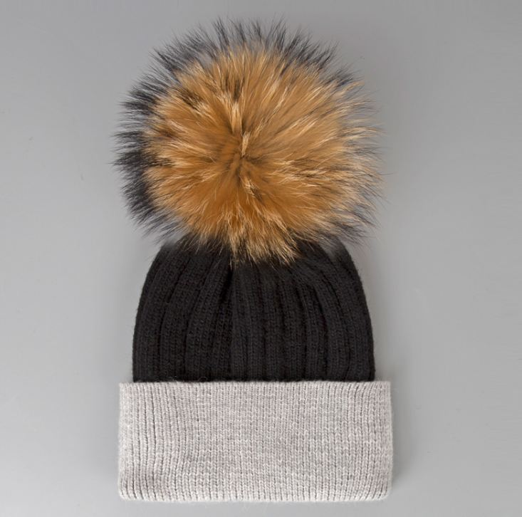 moda mujer gorro invierno