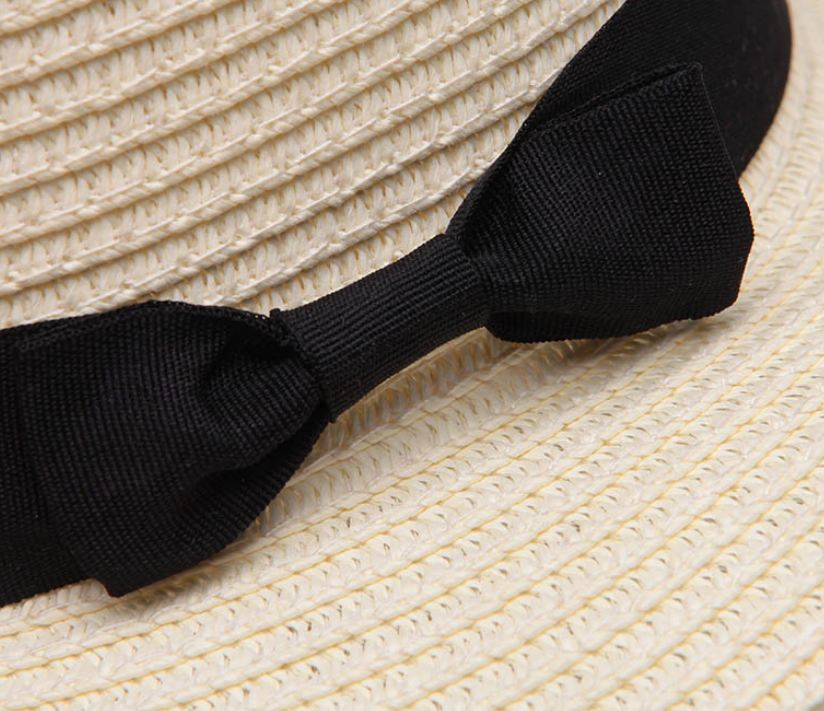 sombrero de mujer con lazo