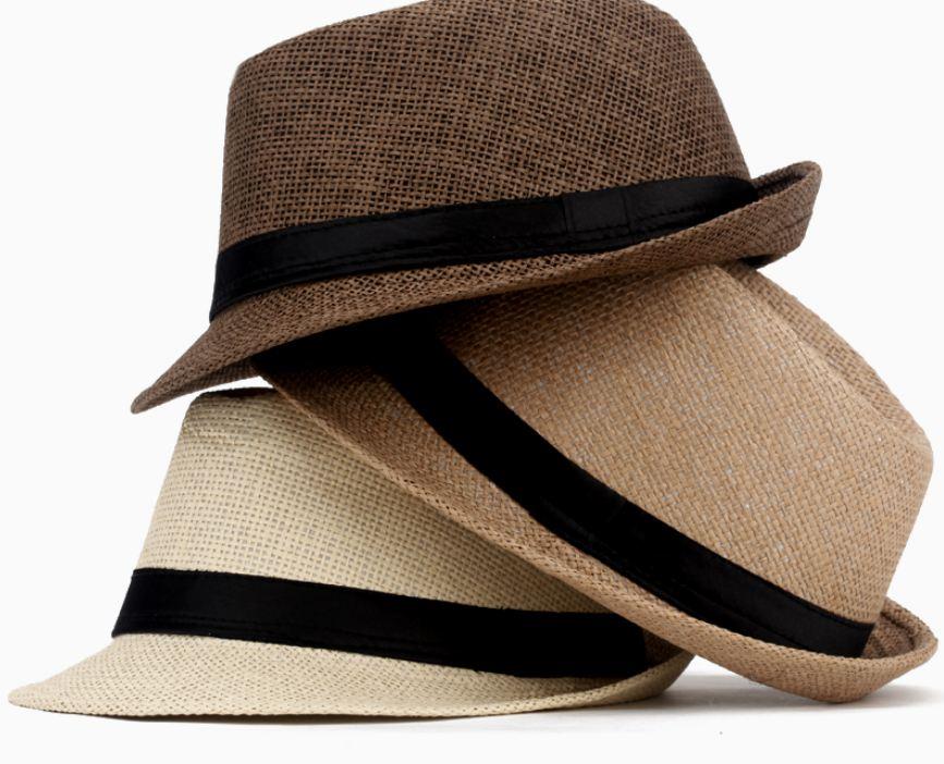 sombrero trilby verano