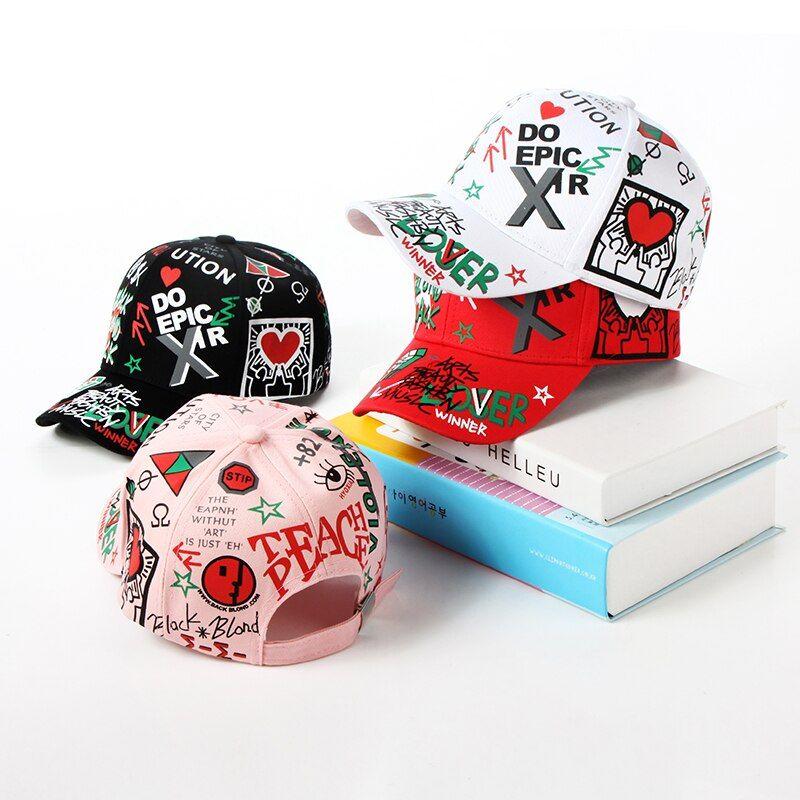 catálogo de gorras graffiti