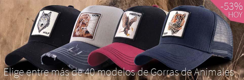gorras de animales online comprar